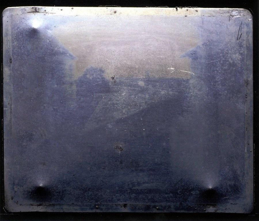Das erste Foto mit Kollodium Nassplatte